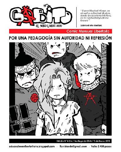 Gabito el niño libertario - Edición N°4,5,6